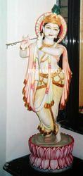 Stone Krishna Statue