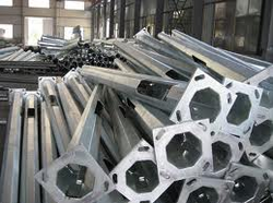 Wind Power Structures  -RSJ Poles (MS-RO & HDG / GI)