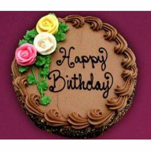 Birthday And Fruit Cake Chocolate Birthday Cake
