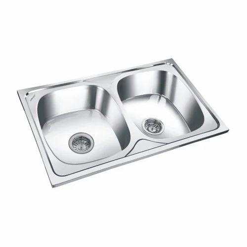 Stainless Steel Kitchen Sink - Double Bowl Sink Manufacturer from Delhi