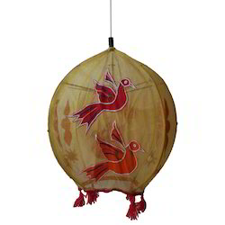 Hanging Cloth Round Lamp