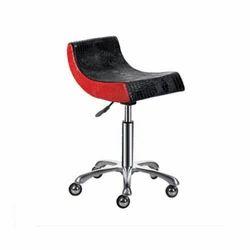 BNB Stool Chair Red & Black
