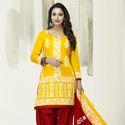 Cotton Printed Patiyala Suit