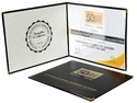 Folder Shape Certificate Holder