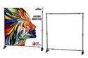 EXIBU Adjustable Banner Stand 10 x 8 FT