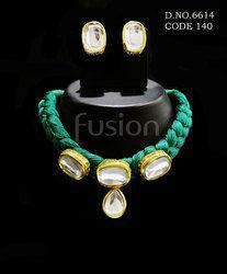Antique Designer Kundan Necklace Set