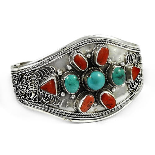 Sterling Silver Bangles - Coral Bangle 100% Export Oriented
