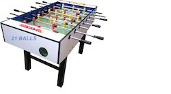 American Soccer Table White 2.5 X 5