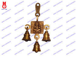 Belt Bell Ganesh Sitting Design Hanging