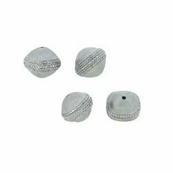 Matte Finish Diamond Beads Findings