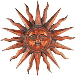 Copper Sun Wall Art