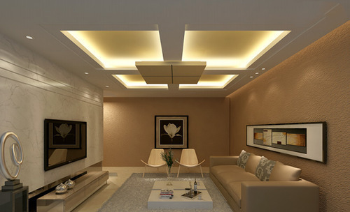 Beautiful Gypsum Ceiling Designs for Living Room