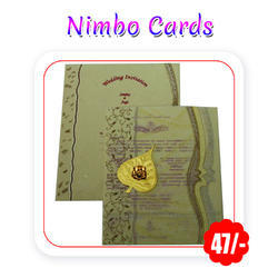 Multi Colors - Wedding (Nimbo - A4 Size/ 300 Gsm) Trifold