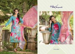 Pure Printed Cotton Suit