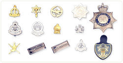 Military Metal Badge