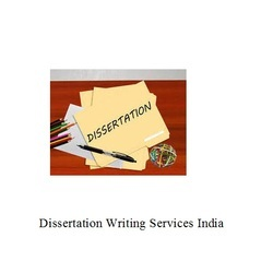 Dissertation Writing Services India