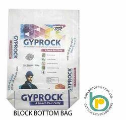 Wall Putty Block bottom Packing Bag