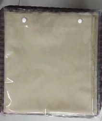 Garment PVC Button Pouch