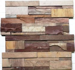Panther slate stone wall Panel / wall cladding tiles
