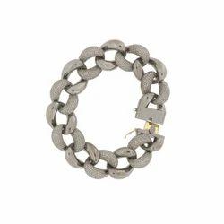 Diamond Link Chain Bracelet