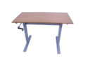 Double Stand Manual Height Adjustable Table