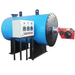 Liquid and Gas Fuel Hot Water Generator