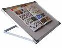 Multipurpose Folding White Board Metal Table