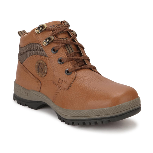Mens Red Chief Elephant Tan High Ankle Casual Shoes