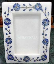 Marble Stone Inlay Photo Frame Handmade
