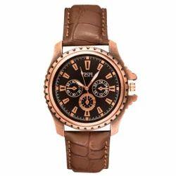 Vespl Analogue Black Dial Men's Watch (VW1005)