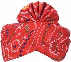 Chunari Print Saafa - Pagri - Turban