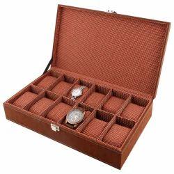 Brown Watch Box