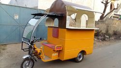 Food Cart Battery Operated