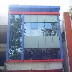 Elevation Glazing Glass Work