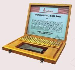 Interchangeable Steel Types (Alpha Number Set)