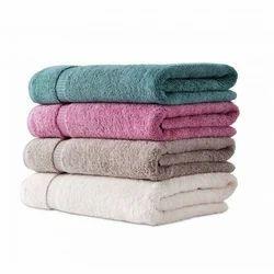 Plain Solid Bath Towels