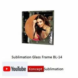 Sublimation Glass Frame BL 14