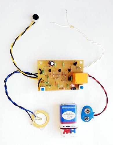 Science Circuit Projects - Clap Sound Switch with Vibration Touch ...
