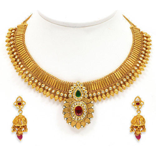 Jewelry necklace set wholesale images jewelry necklace set wholesale images necklace set partywear necklace set wholesale trader from lucknow jpg aloadofball Image collections