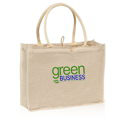 Jute and Canvas Bag