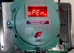 Human Body Static Discharge Device - Model Display Unit