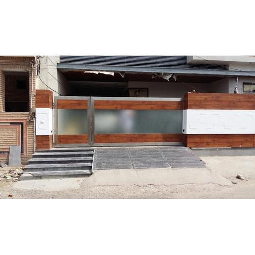 Sliding gates designer stainless steel sliding gate - Sliding main gate design for home ...