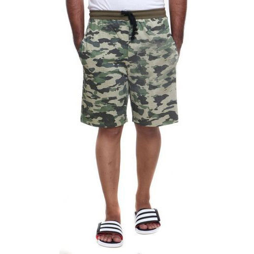 Mens Shorts - Mens Cotton Camouflage Printed Shorts Manufacturer ... fd5937b214e