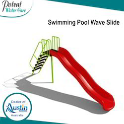 Swimming Pool Wave Slide