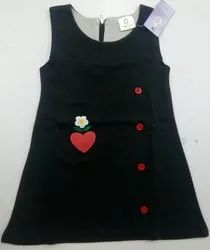 Embroidered Sleeveless Frock
