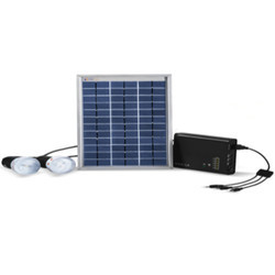 Solar Home Lighting System Project