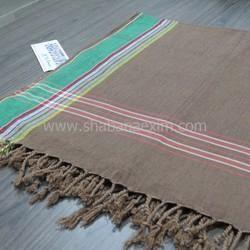100% Cotton Kikoy Beach Pareo Woven African Kikoy Towel