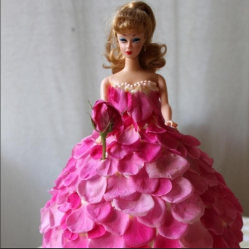 Fondant And Designer Cake For Girls Barbie Doll Girls Cake