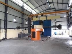 4 Arm Biaxial Roto Molding Machine