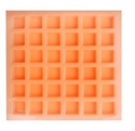 20 gms - square - 36 Cavities - Silicone Soap Mold